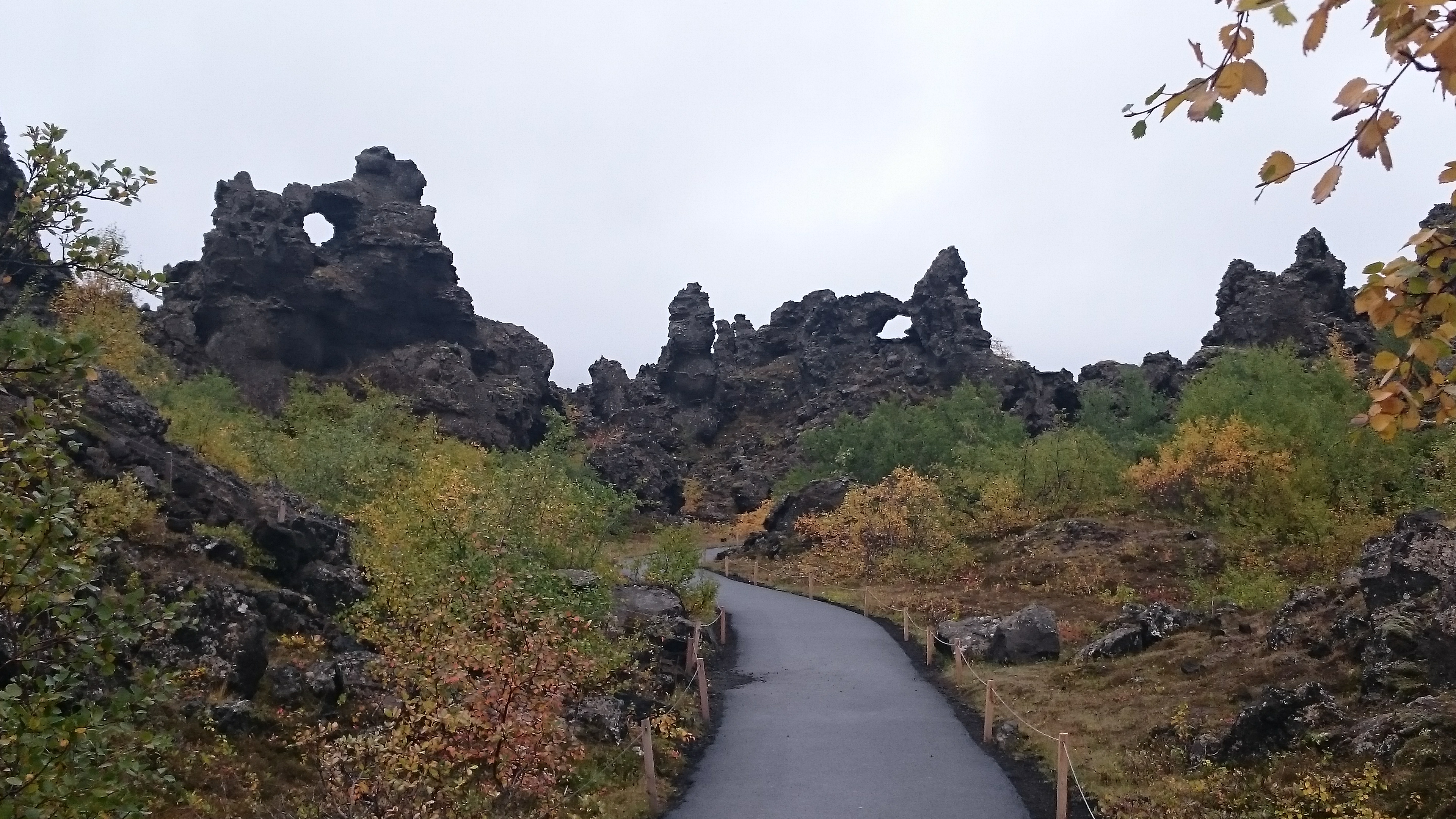Dimmuborgir Landscape