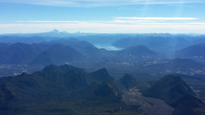 View of the lakes from Villarrica Volcano in Pucon, Chile - Vagabond Journals