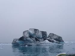 Iceberg in the Lagoon