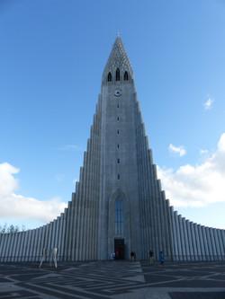 Hallgrimskirkja, Reykjavik Iceland