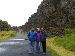 The Wall in Thingvellir