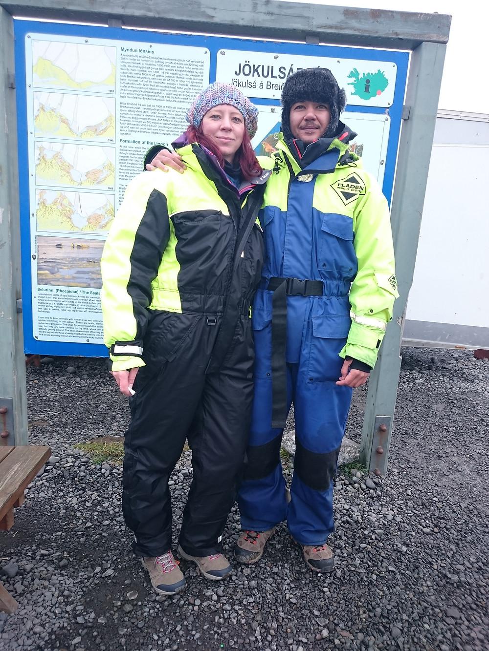 Jokulsarlon Glacial Lagoon Zodiac Tour onesies - Vagabond Journals