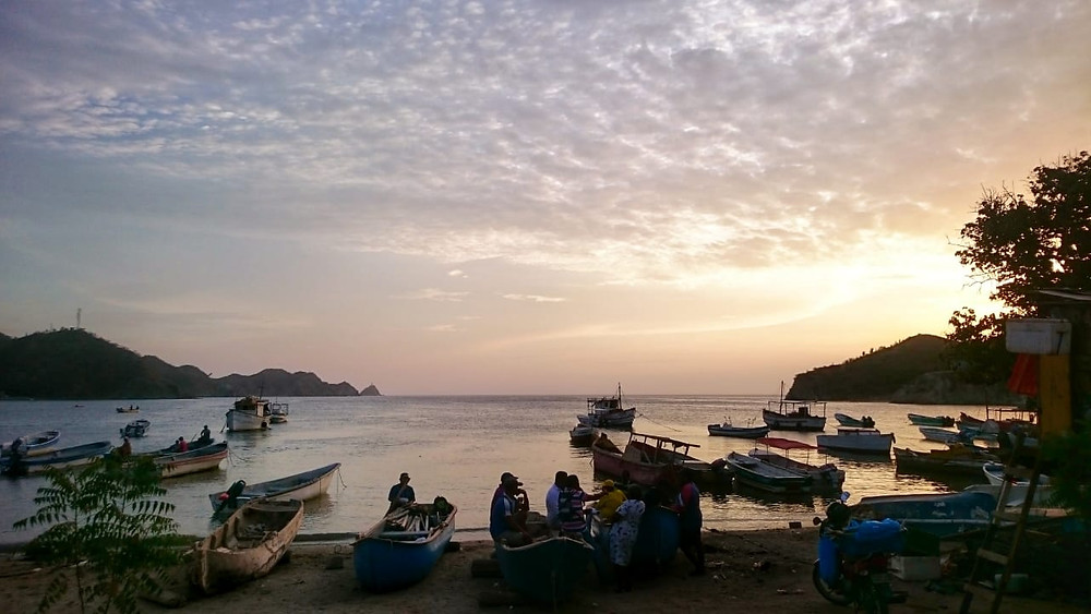 Boats in Taganga, Colombia - Vagabond Journals
