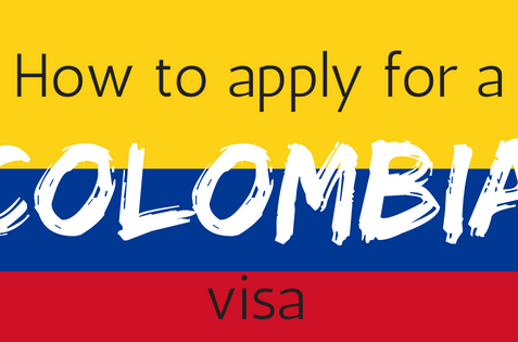 How to apply for a Colombia Visa - the easy way