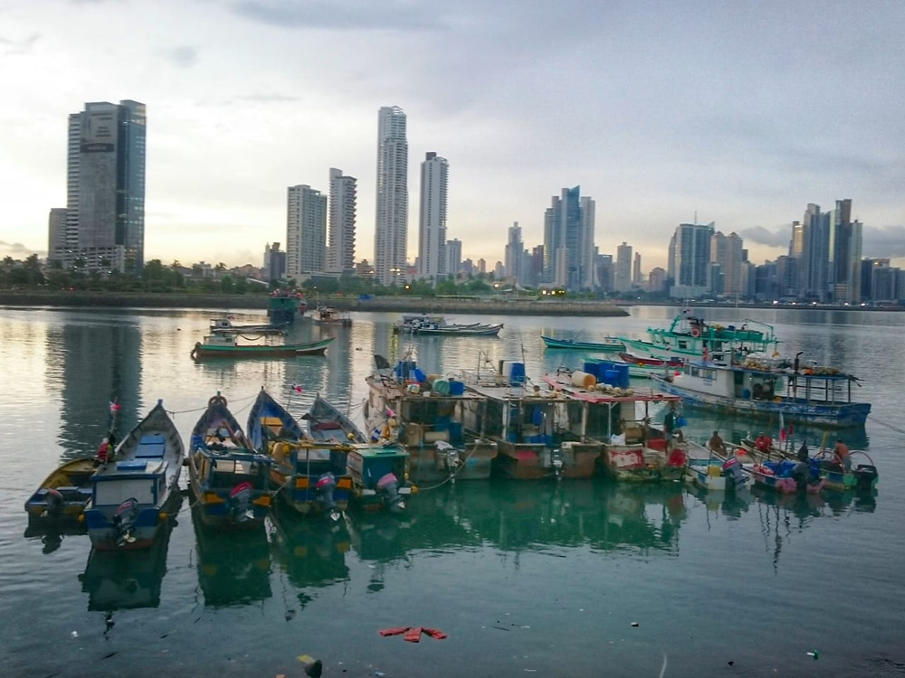 Boats in Panama - Vagabond Journals