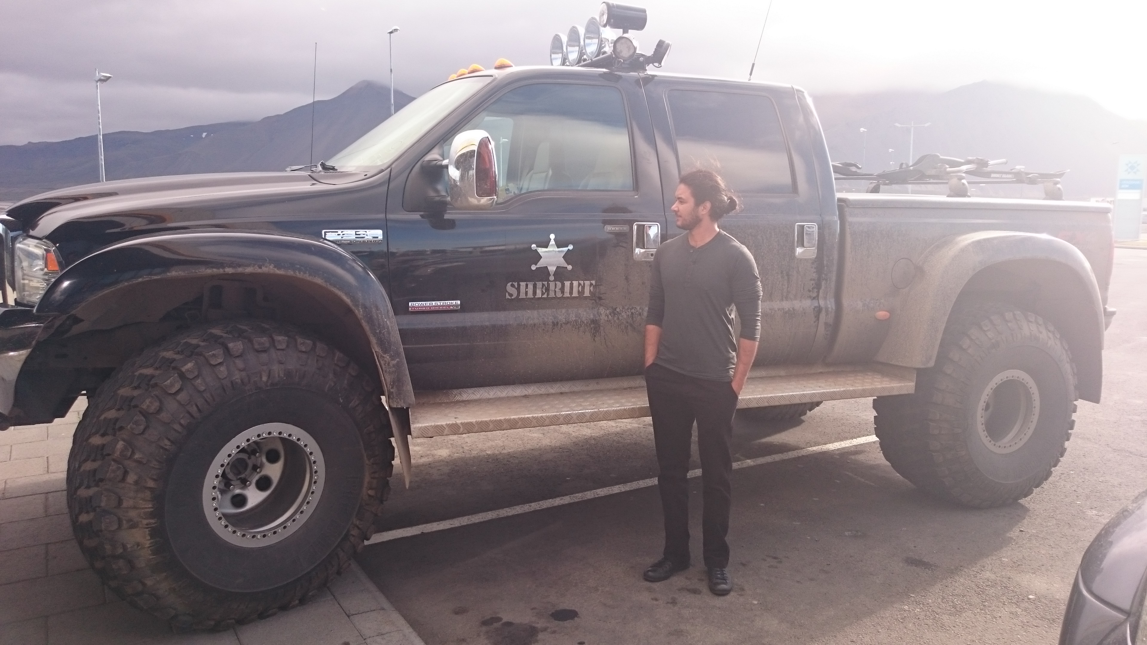 Sheriff's Truck