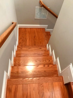 Wooden Flooring - refinish and install