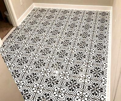 Custom Tile Floor