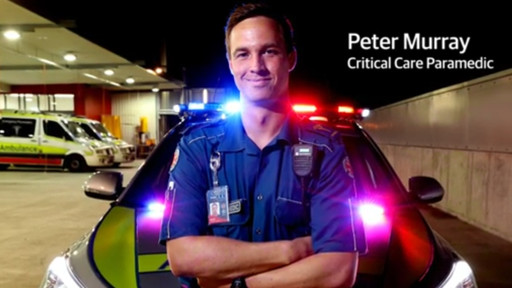 Peter Murray - Queensland Ambulance Service Critical Care Paramedic