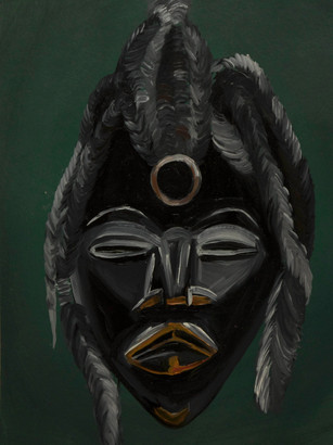 Black Dan Mask (sold)