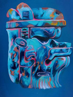 Olmec Were Jaguar (sold)