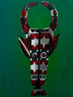 Nyatti Forehead Mask (sold)