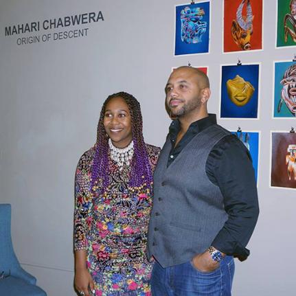 Mahari Chabwera and Ross Browne