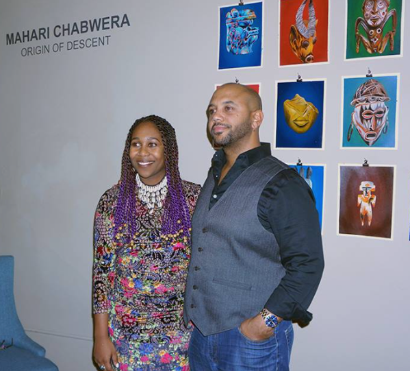 Mahari Chabwera and Ross Browne