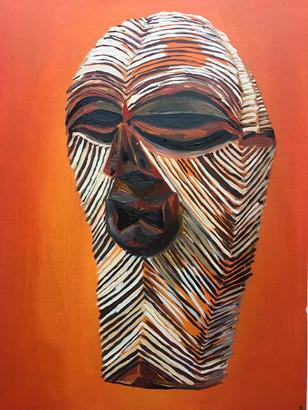 Female Kifwebe Mask (sold)