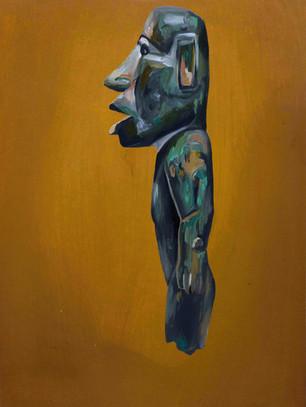 Mayan Standig Figure