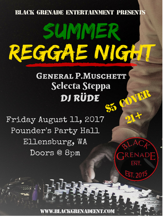 Summer Reggae Night 2017