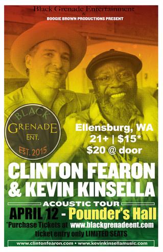 Clinton Fearon  & Kevin Kinsella