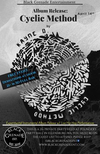 Album Release:Cyclic Method by Kayne O