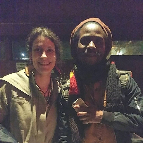 Safe travels @yaadcore and @fari_difuture on their #farmerman West Coast tour. Thank you for sharing your art with Seattle. Bless!! #BxGxE #seattlereggae #blackgrenadeentertainment