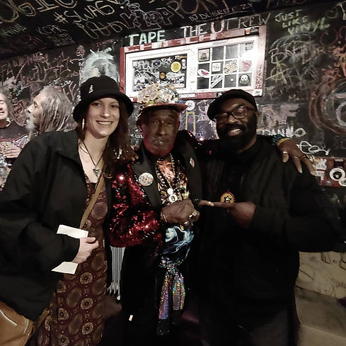 This night was too good to not share. Always a pleasure seeing @lee_scratch_perry and @subatomic doing big tings. Respects and Love  #dub #legends