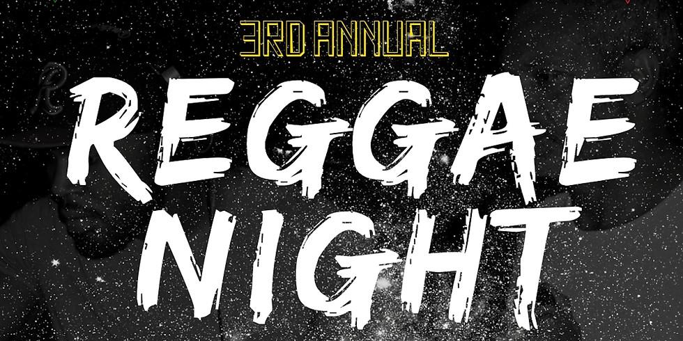3rd Annual Reggae Night