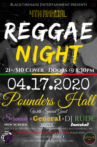 4th Annual Reggae Night