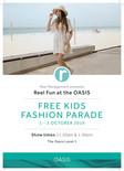 OASIS Kid's Fashion Parade Sept 2019