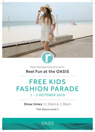 OASIS Kid's Fashion Parade Sept 2019