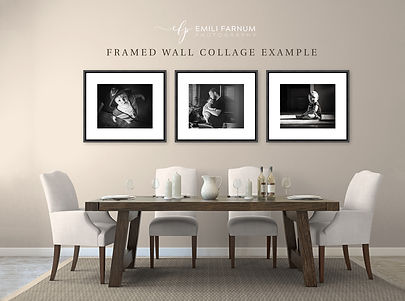 Framed Wall Collage Example
