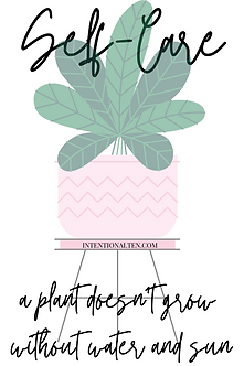Self-Care Sticker