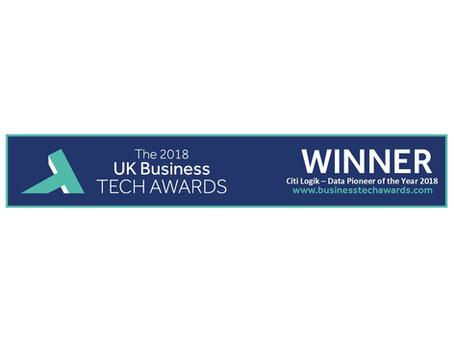 Citi Logik win at the inaugural UK Business Tech Awards