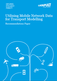 Utilising Mobile Network Data recommendations paper