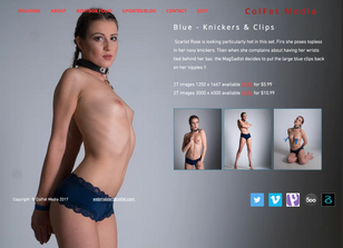 Blue - Knickers & Clips