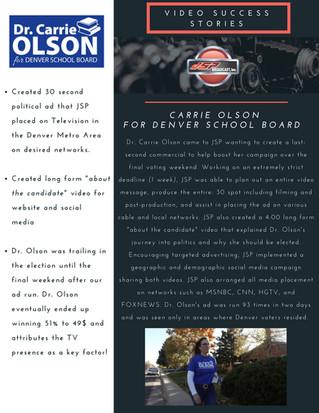 JSP Success Stories - Dr. Carrie Olson for Denver School Board