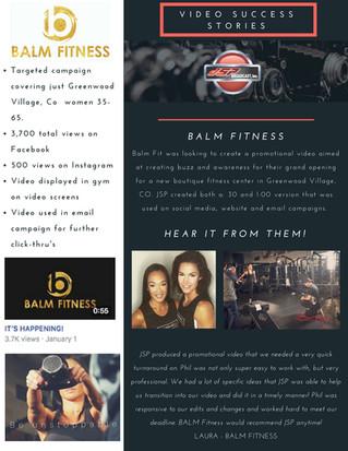 JSP Success Story - Balm Fitness