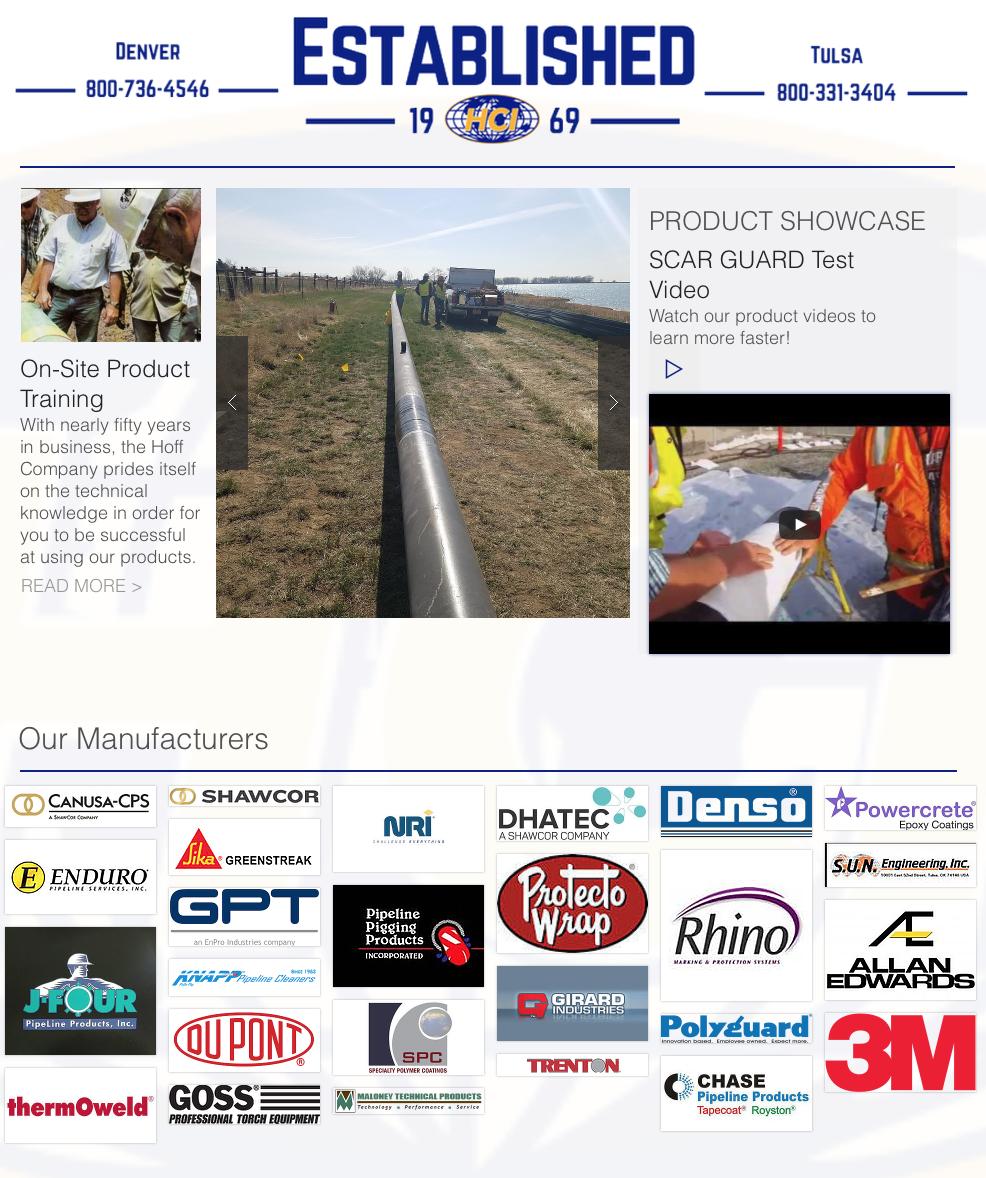 Hoff Company - Oil Pipeline Supplies