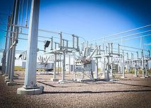 Substation Powerline Installation