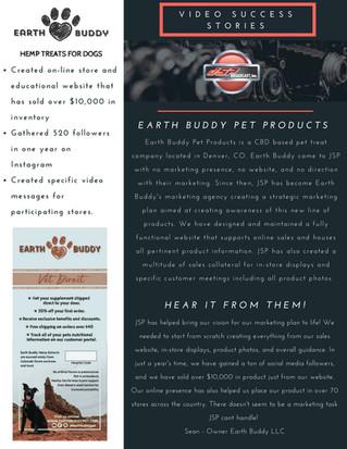 JSP Success Story - Earth Buddy Pet
