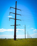 Transmission Powerline Installation