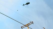 Overhead Distribution Powerline Installation