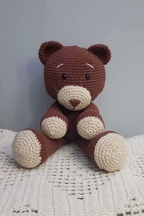 Urso amigurumi - Atelier Artesanattos