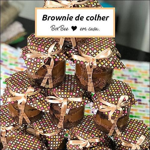 Brownie de colher - Box.Bee