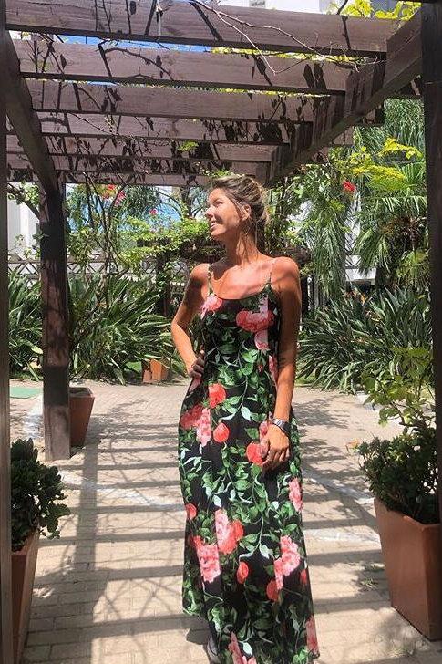 Vestido longo - Amô