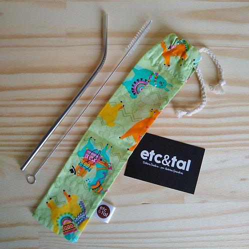 Kit Canudo Ecológico  - Etc & Tal
