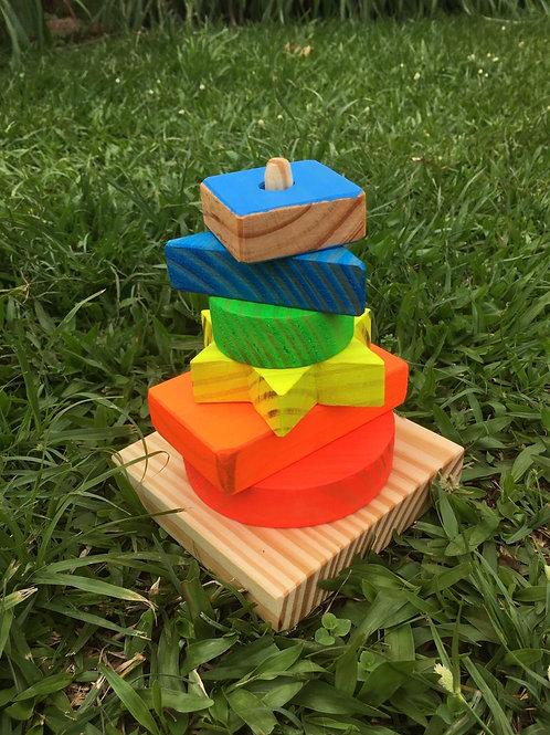 Torre Formas Geométricas - Tula