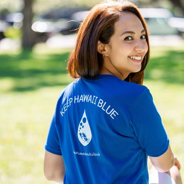 Keep Hawaii Blue T-Shirts