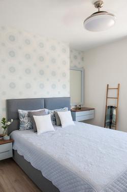 עיצוב מדורני חדר שינה הורים