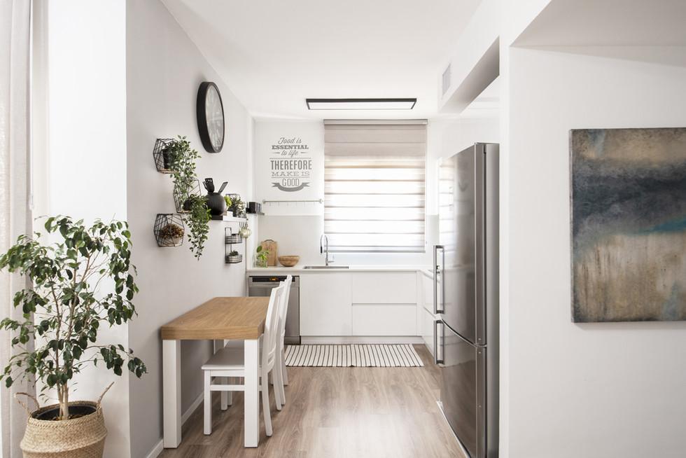 עיצוב מטבח בדירה שכורה