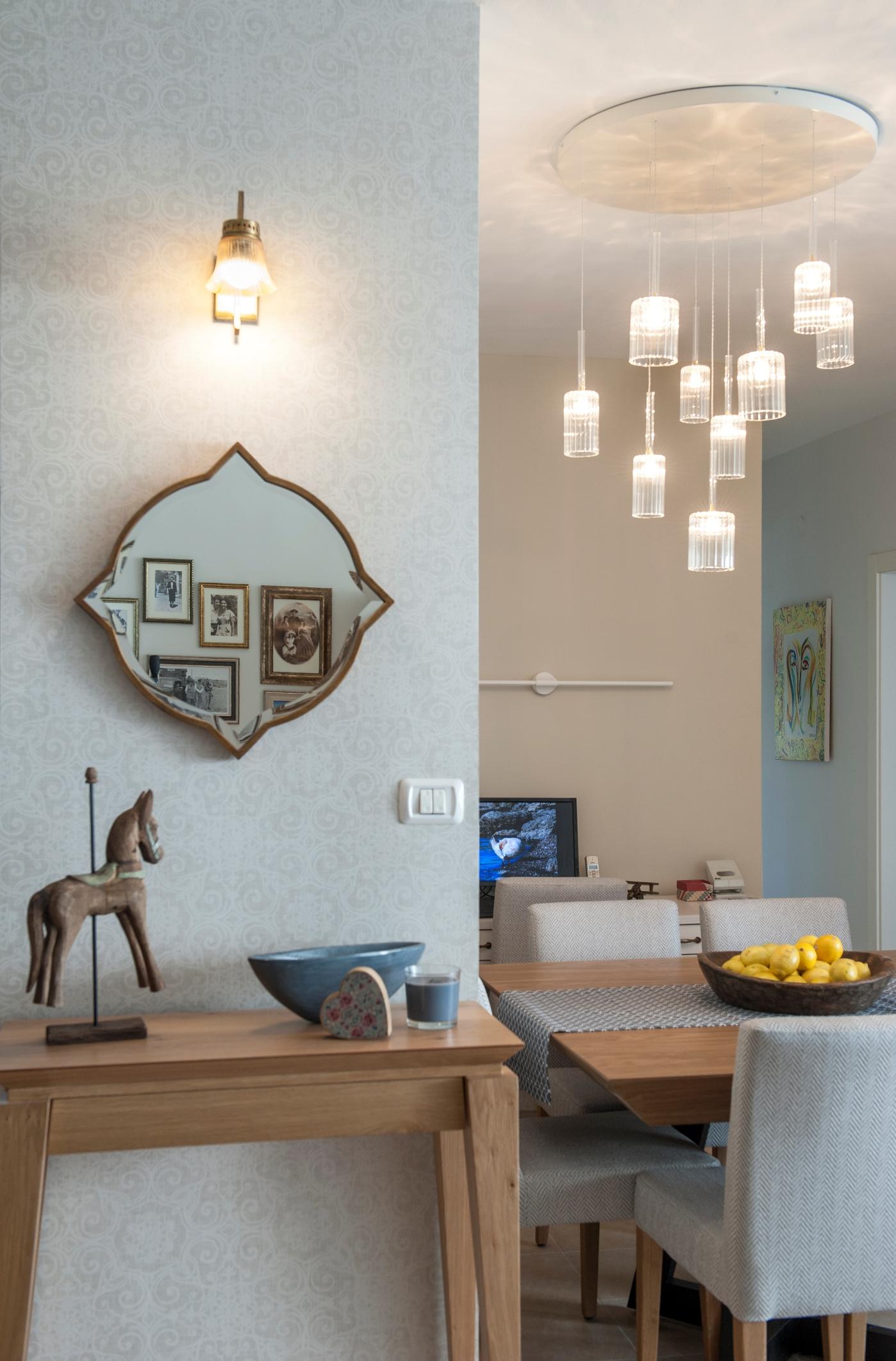 עיצוב קיר כניסה בעיצוב דירה